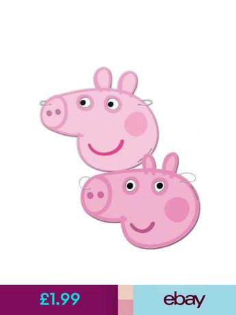 Peppa Pig Costume Masks Ebay Home Furniture Diy
