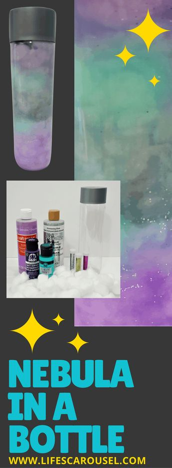 Nebula in a Bottle - Make You Very Own Galaxy in a Bottle