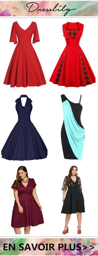 12% de réduction sur les commandes de plus de 33€ avec le code DL123. #dresslily #robe #grandetaille #plussize