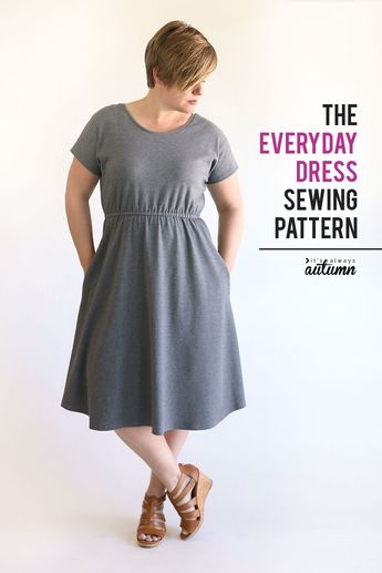 The Everyday Dress sewing pattern + tutorial