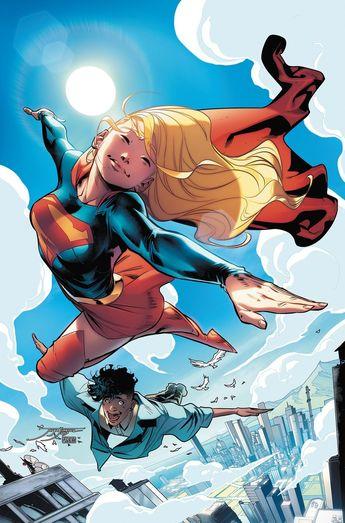 Supergirl Vol.7 #19 (Cover art by Jorge Jiménez)