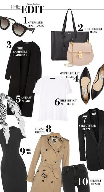 Style Tips: How To Dress Like A French Woman