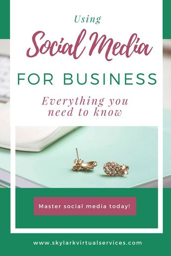 Using Social Media for Business - Everything You Need to Know