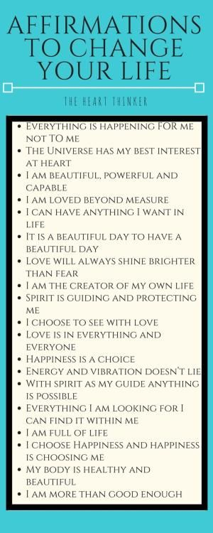 Affirmations are a beautiful way of grounding yourself and shift into a more positive mindset. Visit my blog to read about the benefits of having mantras and affirmations and how to use them at theheartthinker.wordpress.com or click on the image! :) Love by TODD17