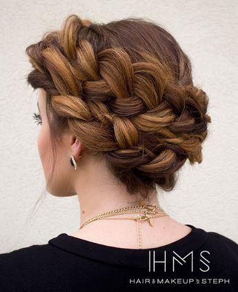 thick crown braid