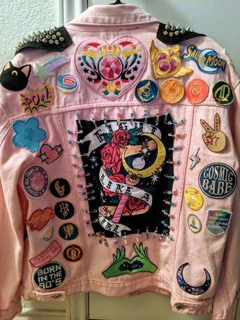 Sailor Moon Punk Jacket
