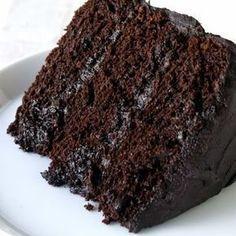 The Most Amazing Chocolate Cake