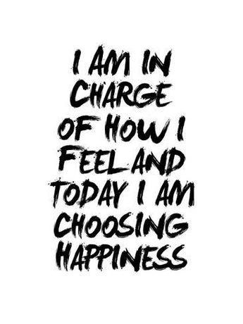 Giclee Print: I Am In Charge Of How I Feel by Brett Wilson : 32x24in