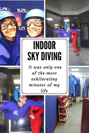 I tried - Indoor Sky Diving at 'I-Fly Milton Keynes' - An Honest Review