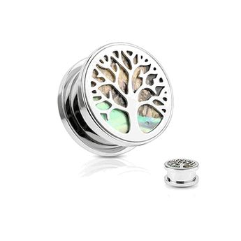 The wearable area on this plug is 6mm. Sold as a pair