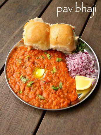 Pav bhaji recipe   easy mumbai style pav bhaji