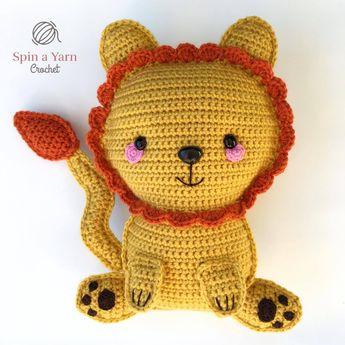 Ragdoll Lion Free Crochet Pattern • Spin a Yarn Crochet