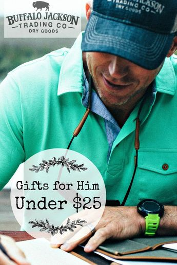 Looking for Christmas gift ideas for him under 25 dollars? Check out our 2018 Under $25 Holiday Gift Guide for men. All the best men's gift ideas for husbands, dads, boyfriends, and sons — all unique, thoughtful, and within your budget! #giftguide #giftguides #giftsforhim #mensguides #honoryourwild