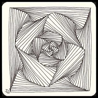 Life at Stamping Details: Zentangle Basics with Suzanne - August 15th