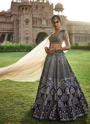 869c4b46f0d9 Stylizone @absestates2512. 2w 0. A447-Exclusive Heavy Designer Beautiful  Royal Blue Color Bridal Lehenga Choli