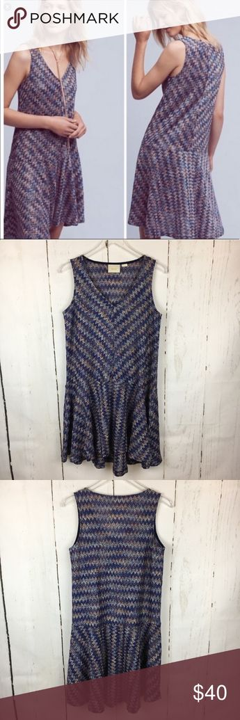 dc94c313b955 Anthropologie Maeve | Westwater Knit Chevron Dress 🚫NO HOLDS TRADES OR  MODELING Anthropologie Maeve Westwater