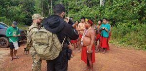 PF visitou aldeia no Amapá com filho de indígena morto