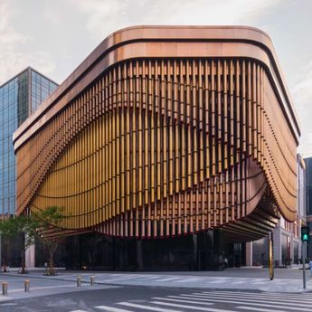 architecture - Fosun Foundation in Shanghai This Beautiful Moving Building Is Inspired by Chinese Theatre