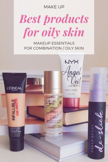Makeup essentials for oily skin