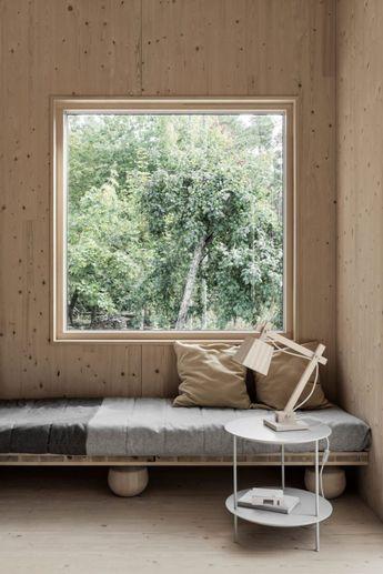 Peek Inside a Minimal Getaway in Sweden