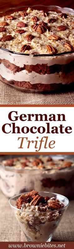 German Chocolate Cake Trifle