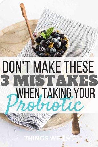 There are a lot of great reasons to take probiotics. But taking a probiotic will only take you half way. Start here to make sure you're getting the most from your probiotic.  #probiotics #supplements #wellness #naturalhealing