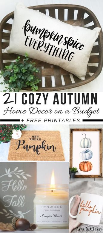 Autumn home decor that makes you want to get all cozied up!