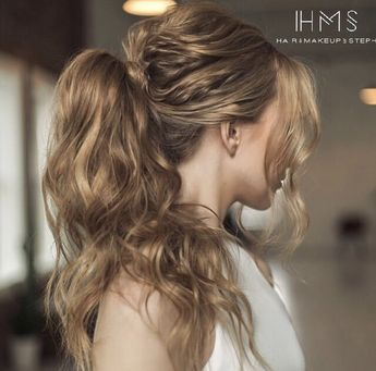 #wedding #bridal #classic #updo #hair #vintage #bride #hairstyle #editorial #redcarpethair #bridesmaid #specialoccasion #hairandmakeupbysteph #inspiration #ideas #waves #ponytail #classic #pony #long #trendy