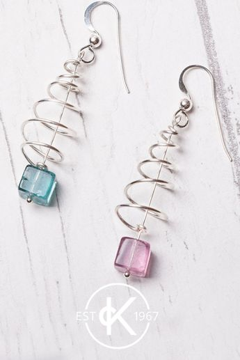 We love these festive wire-wrapped Christmas tree earrings featuring our fluorite beads! Watch our tutorial online and get all the supplies you need to make them yourself in time for Christmas. A perfect project is you're a jewellery making beginner and after a great handmade gift this Christmas