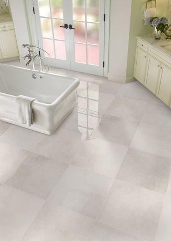 "Capella 24"" x 24"" Porcelain Field Tile in White"