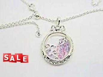 a044ccb2b Pandora Pendant Charm Locket of Dazzling Necklace, Multi-Color CZ  #397716ACZMX, Authentic
