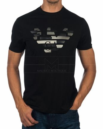 ee692e5b983 Camisetas Emporio Armani EA7 Negra - YPTD
