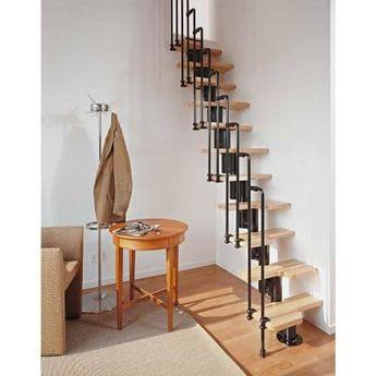 Arke Karina Black Modular Staircase Kit