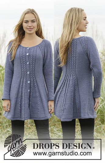 bbfb4408f 156-4 Alana Cardigan pattern by DROPS design