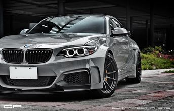 The BMW M235i Gets Wide with Manhart Racing