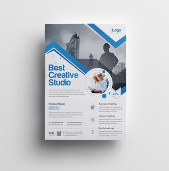 Vega Elegant Professional Business Flyer Template - Graphic Templates
