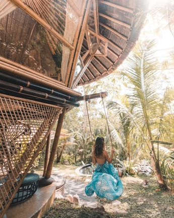 Hideout Beehive - Unique Jungle Bamboo Home At Hideout Bali
