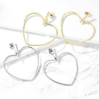 Measurement: 20GA (0.8mm), 40 mm Dangle Length, Very Fashionable earrings