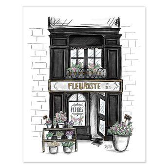Fleuriste - Print & Canvas