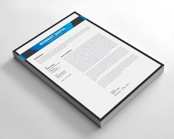 Border Resume Design 002765 - Template Catalog