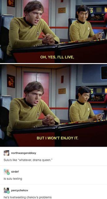 "18 Times ""Star Trek"" Fans Were The Funniest Part Of Tumblr"