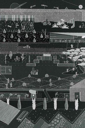 oma parc de la villette diagram venn sorting shapes 2 park competition entry rem koolhaas