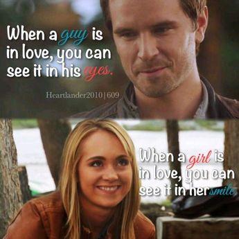 """callmebethany2010: """" Heartland Season 6 Episode 9 """"When a guy is in love, you…"""