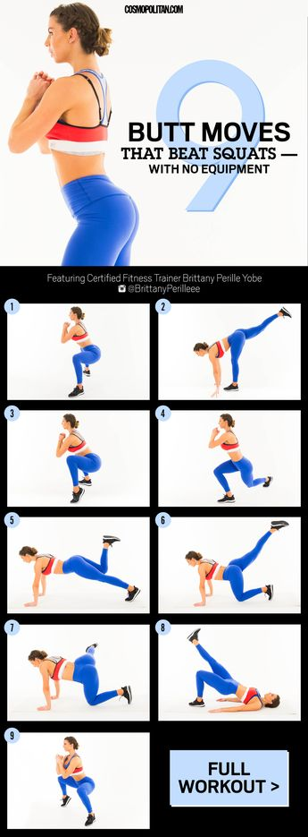 9 Butt Exercises to Transform Your Glutes