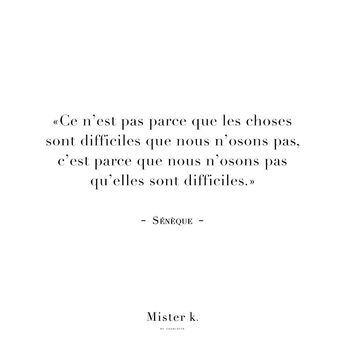 sunday night quote } ✨ oser, le pire que l'on risque c'est de se tromper. #oser #citation #seneque #desmotsquiontdusen