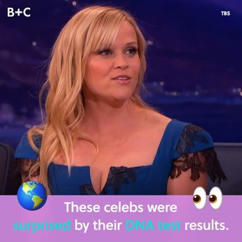 See How These Celebrities Were Totally Surprised By Their DNA Test Results