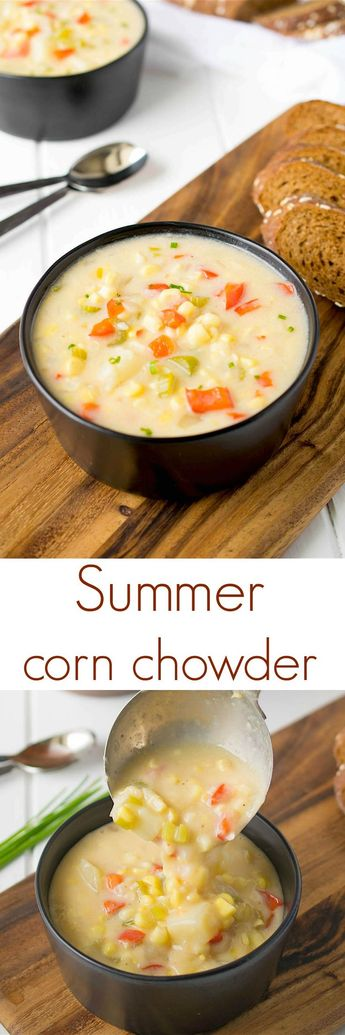 This summer corn chowder is comfort food that can be enjoyed anytime of the…