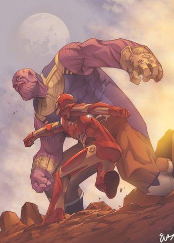 """Avengers: Endgame"" How Thanos knows Tony Strak [Explained] - SuperHeroes Fandom"