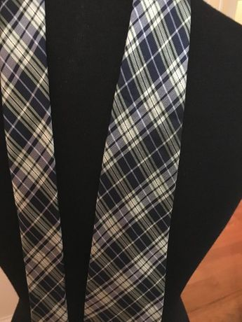a8b4ee9c92d2 Details about Preppy Look Mad about Plaid - Chaps 100% Silk Tie Blues &  Greens