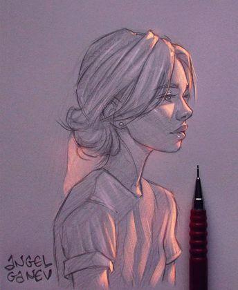 Cet illustrateur crée des effets de lumière exceptionnels sur ses dessins